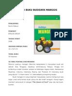 RESENSI Buku Budidaya Manggis