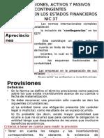 Nic 37 Provisiones