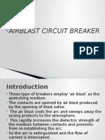 Air Blast Circuit Breaker 1