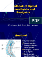 Handbook of Spinal Anaesthesia and Analgesia