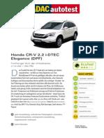 Honda CR v 2 2 i DTEC Elegance DPF