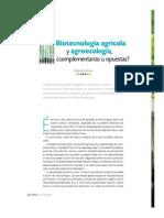 Biotecnologia vs Agroecologia