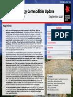 Minerals Energy Outlook September 2015
