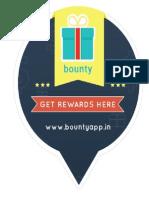 Bounty Sticker by Ideasaur