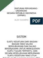 Sistem Perundang Undangan