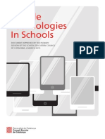 Mobile Technologies in Schools
