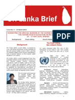 "REVISITING THE SPECIAL SESSION OF THE HUMAN RIGHTS COUNCIL ON ""THE HUMAN RIGHTS SITUATION IN SRI LANKA"""