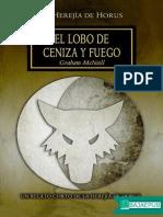 Lobo de Ceniza y Fuego - Graham McNeill