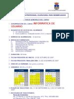 Cartel Curso Informatica de Usuario
