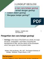 Modul 1 - Geologi