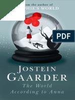 The World According to Anna by Jostein Gaarder