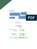 Calcul Debit Pod Metalic