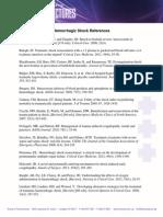 4_Hemorrhagic Shock References