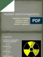 Radiatii Electromagnetice - prezentare ppt