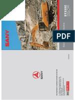 Manual Sy235c Escavadeira