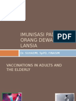 Imunisasi Pada Orang Dewasa