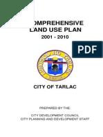 Comprehensive Land Use Plan - Tarlac