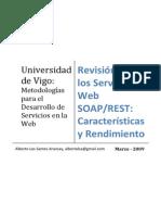 Revisión de los servicios web SOAP/REST
