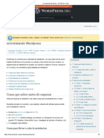 Instalando Wordpress