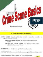 Crimescene Basics
