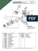 mcculloch Parts Diagram