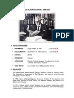 1. Luis Alberto Sánchez Sánchez