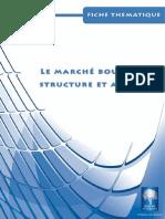 BOURSE DE CASA Fiche Structure Acteurs