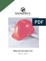 Manuel Sante Et Securite Au Travail