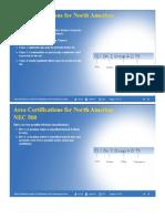 Nec 500 y 505 Area Certifications