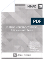 Plan de Mercadeo de Tractores Del Sector Agroindustrial John Deree