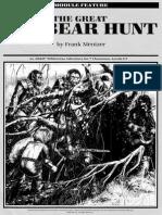 R5 - The Great Bugbear Hunt, 1st e, Lvl 5-7