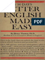 Henry Thomas - Better English Made Easy