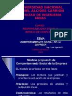 Modelo Propuesto de Responsabilidad Social Corporativa