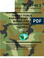 Paramilitary and Nonmilitary Organization and Tactics - FM 31-91.3
