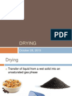 Lesson about Drying