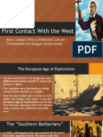chapter 13- first contact with the west