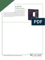 Comelit 5714 Data Sheet