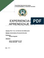 Experiencia n 4