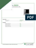 Comelit 5900G Data Sheet