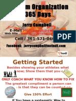 2013 Program Organization 365 Days 2
