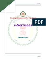 Chhattisgarh eServices UserManual