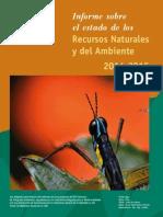Informe sobre el estado de los Recursos Naturales y del Ambiente 2014-2015