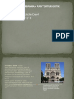 Sejarah Perkembangan Arsitektur Gotik