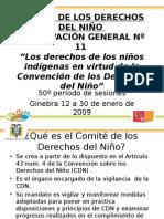 Derechos de Niños Indígenas CDN Presentacion TN 20-09-09