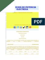 Ejercicios de Potencia Electrica