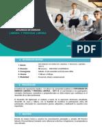 Diplomado Derecho Laboral y Procesal Laboral