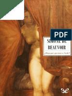 Beauvoir, Simone de (1955) - Hay Que Quemar a Sade