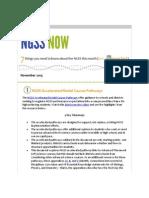 November 2015 NGSS NOW Newsletter