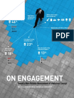 On Engagement   By Donald Chesnut, Senior Vice President and Chief Experience Officer