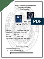 COGNITIVA I-programa Analitico